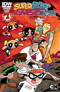 Cartoon Network Super Secret Crisis War! Todos Los Comics!
