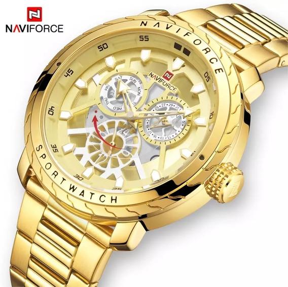 Relógio Naviforce Millitar Editions (original)