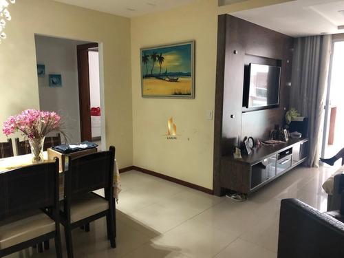 Apartamento 03 Quartos Montado Na Praia De Itapoã. - 21012