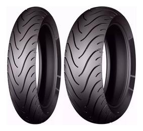 Par Pneu Hornet Xj6 120/70-17+180/55-17 Michelin Radial