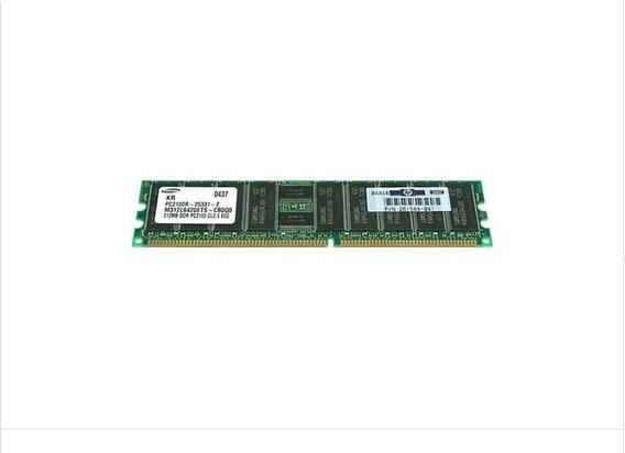 Memória Hp 512mb (266mhz) Pc2100 Pn 261584-041
