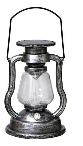 Imagen 1 de 9 de Lámpara De Vela Colgante Con Energía Solar, Retro, Led