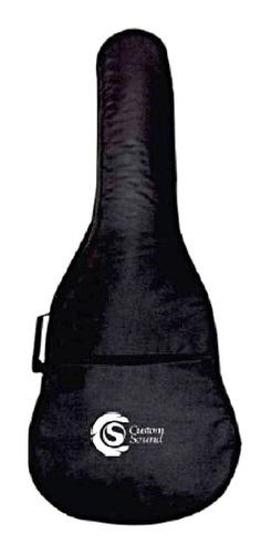 Imagem 1 de 5 de Capa De Nylon Para Violão Clássico Ou Cutway Reforçada