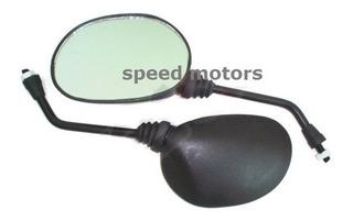 Espejos Yamaha Ybr 125 Wave 100 Rosca Izq Der 10mm Speed Mot