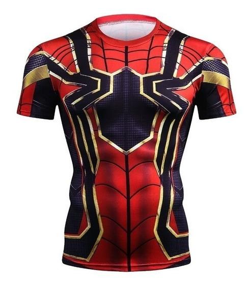 Camisa Masculina Homem Aranha Guerra Infinita Spider-man Md7