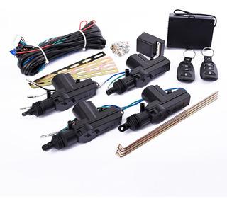 Kit De Cierre Centralizado Universal 4p Con Control Kube