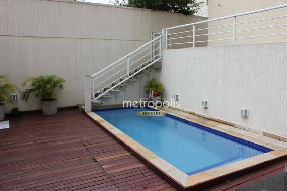Casa Com 3 Dormitórios Para Alugar, 300 M² Por R$ 9.000/mês - Santa Maria - São Caetano Do Sul/sp - Ca0470