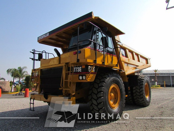 Camión Fuera De Carretera 773e Cat 2003 Eco3067