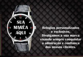 Relógio De Pulso Personalizado Sua Empresa Seu Logo Foto 4