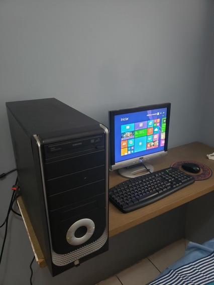 Computador E Monitor Para Escritório Amd Athlon