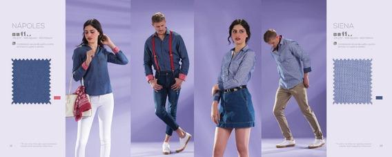 Camisas Y Blusas Mca Bibo De Gabardina Color Oxford5