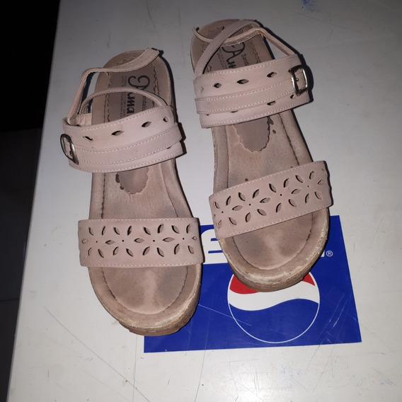 Zapatillas Dama Color Beige No 23