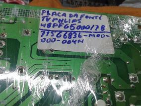 Placa Da Fonte Tv Philips Mod; 48 Pfg 5000 / 78