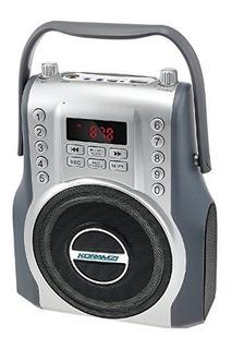 Koramzi Karaoke Portatil Boombox Con Bluetooth Y Bateria Rad
