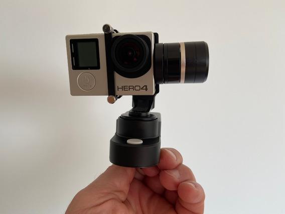 Gopro Hero 4 (4 Baterias) + Estabilizador De Filmagem