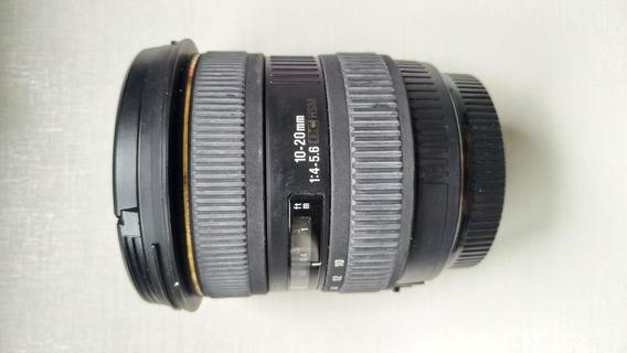 Lente Sigma 10-20mm F/4-5.6 Ex Dc Hsm P/ Canon