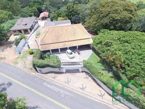 Imagem 1 de 17 de Casa À Venda, 450 M² Por R$ 2.100.000,00 - Parque Jatibaia (sousas) - Campinas/sp - Ca0462