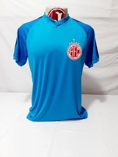 Camisa Goleiro América Natal Rn 2019 Rinat Azul