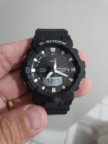 Relógio Casio G-shock Masculino Ga-800 Preto