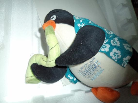 Pinguim De Pelúcia Beach Park Usado Jaca Lele R.090