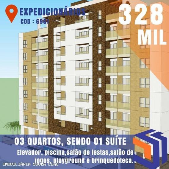 Apartamento Para Venda Em João Pessoa, Expedicionários, 3 Dormitórios, 1 Suíte, 2 Banheiros, 1 Vaga - 6961