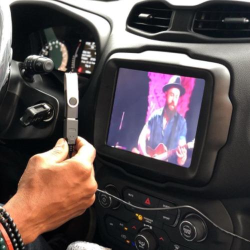 Imagem 1 de 3 de Kit Jeep Desbloqueio + Tv + Espelhamento+ Módulo Vidro+ Ppf