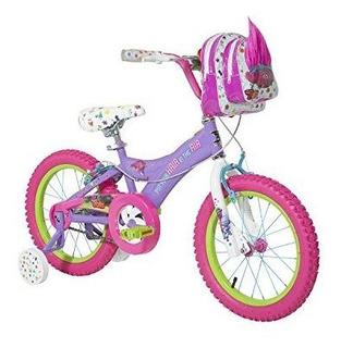Dynacraft Trolls Girls Bmx Streetdirt Bike Con Freno De Mano