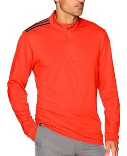 Sudadera De Golf Classic 3 Stripes Hombre adidas Bc6985