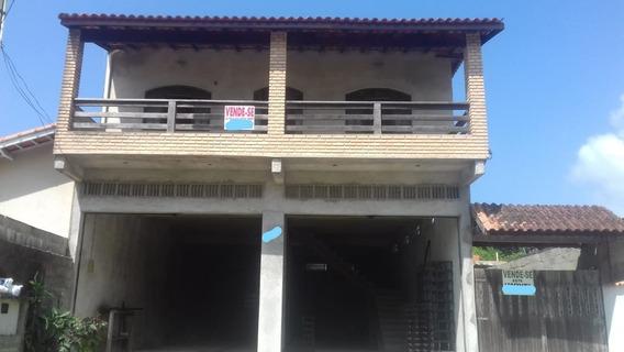 Sobrado Com Salão Comercial Em Itanhaém (jd.guacira)