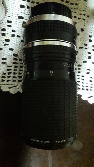 Lente Sigma 80-200mm F4.5 Com Tele 2× Para Olympus Om