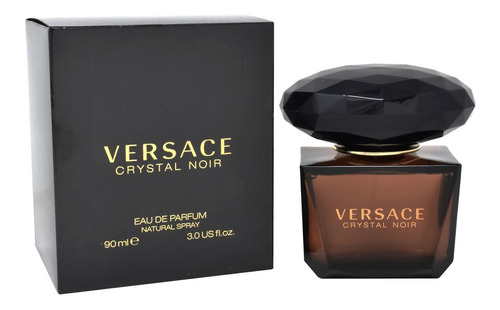 Imagen 1 de 1 de Crystal Noir 90 Ml Edp Spray De Versace