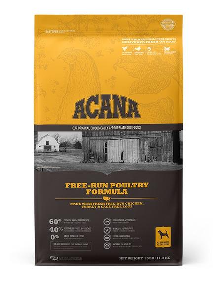Alimento Para Perro Preimum Acana Free Run Poultry 11.3kg