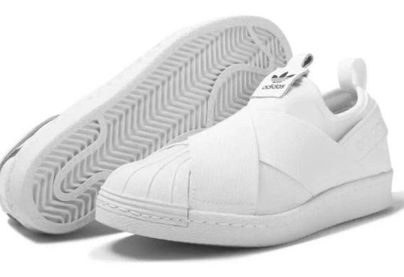 Tênis Casual Unissex adidas Superstar Slip On + Frete Grátis