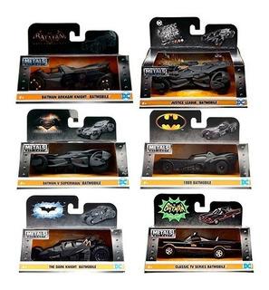 Set Pack 6 Batimovil Batmobile 1:32 Jada Metal Batman Oferta