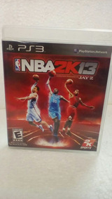 Jogo Nba 2k13 Playstation 3 Seminovo
