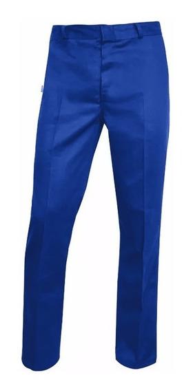 Pantalón De Trabajo Azul Francia Triple Costura, Grafa Homol
