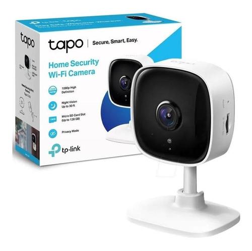Imagen 1 de 6 de Camara Tp-link Tapo C100 Wi-fi Seguridad Para Casa Full Hd