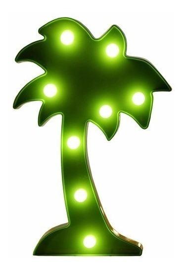 Luminária Led Festa Decoração Abajur Enfeite Unicórnio Cacto