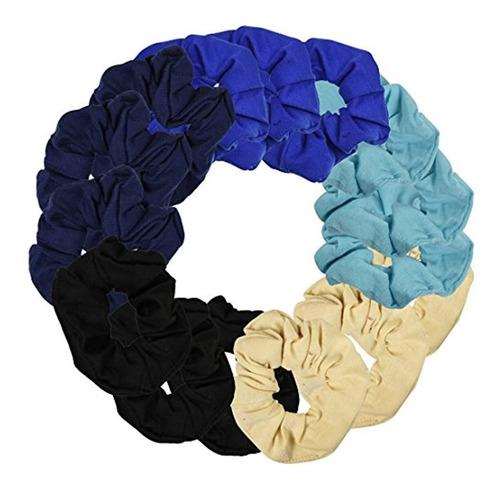 Imagen 1 de 5 de Juego De 15 Gomas, Negro Azulado