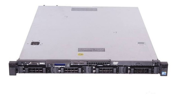 Servidor Dell Poweredge R410 2 X Sixcore 2hd Sas 450gb 16gb