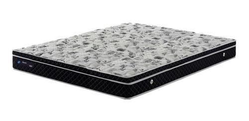 Colchão Casal Basic Black Molas Verticoil - 138x188x23