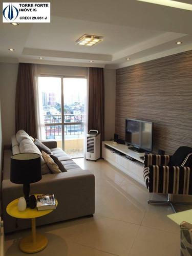 Imagem 1 de 15 de Apartamento Com 2 Dormitórios Na Vila Prudente - 2809