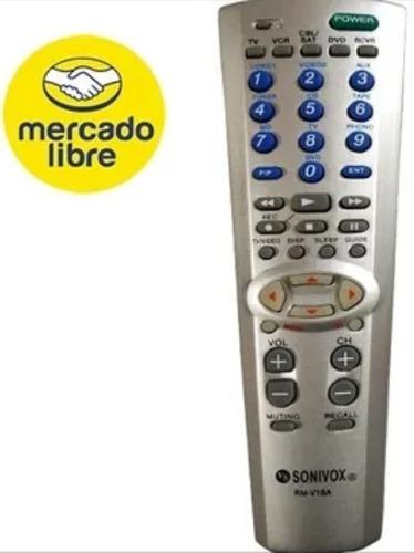 Control Remoto Tv Lcd Led Universales Sony, Panasonic, Sharp