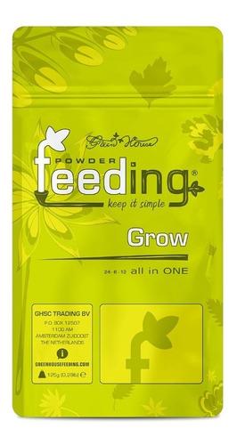 Imagen 1 de 2 de Fertilizante Green House Feeding Grow - Autocultivo