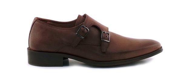 Zapato Hombre Clásico Cuero Briganti - Hccz01077