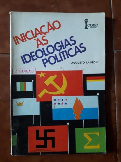 Livro Iniciação As Ideologias Políticas