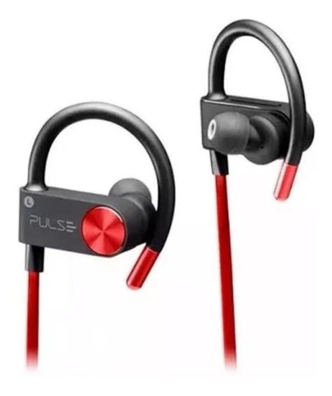 Fone De Ouvido Bluetooth Earhook Vermelho Pulse Ph253