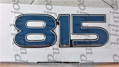 Imagen 1 de 9 de Emblemas Ford Cargo 815 Camion Original Fotos Reales Promo