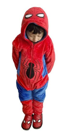 Macacão Pijama Homem Aranha Inf. 3 A 4 Anos Zc 10071144