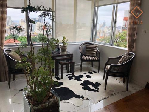 Apartamento Com 3 Dormitórios À Venda, 230 M² Por R$ 1.700.000,00 - Morro Dos Ingleses - São Paulo/sp - Ap48834